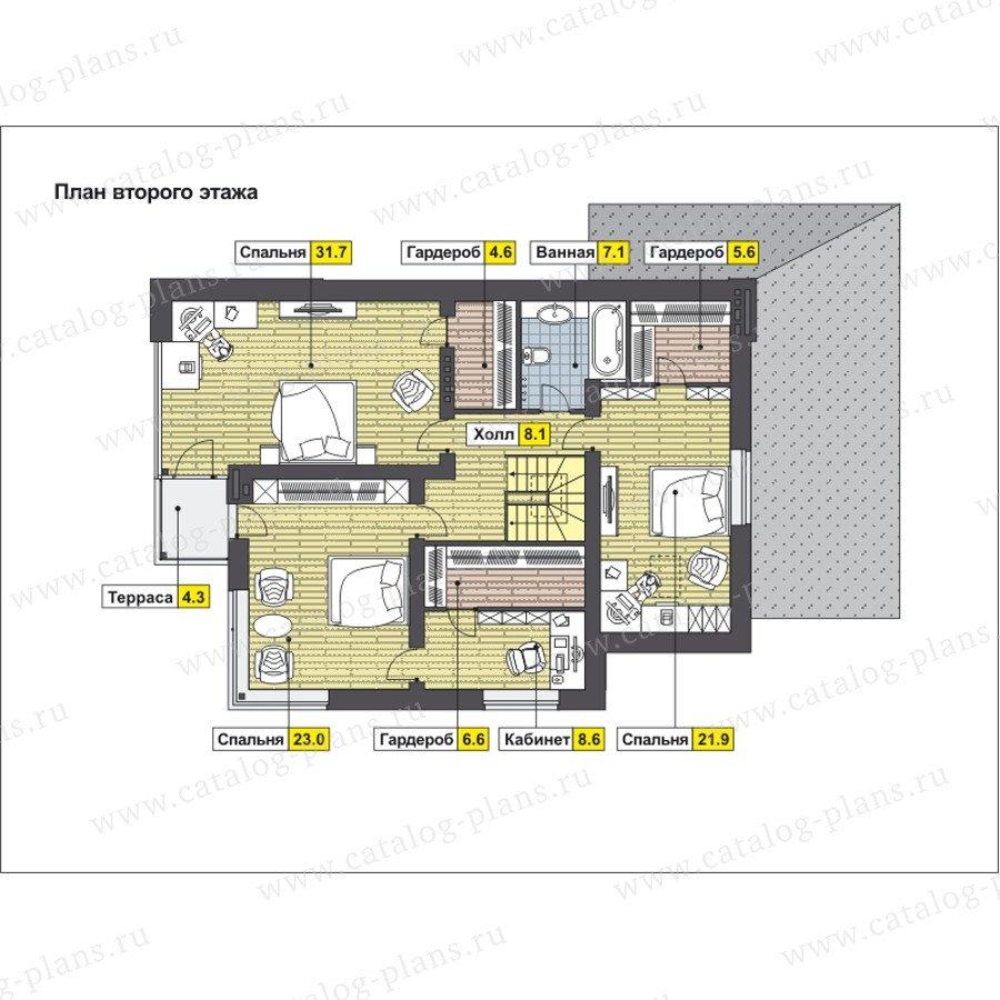 План 2-этажа проекта 59-24F