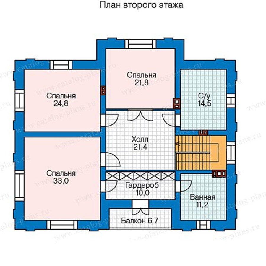 План 2-этажа проекта 40-36G