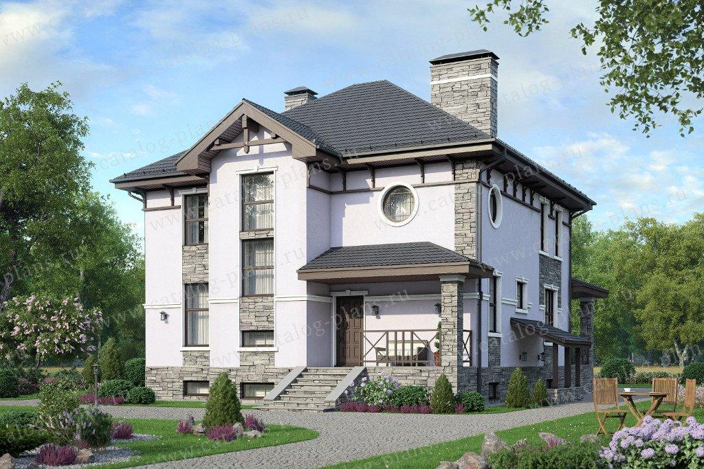 Проект жилой дом #57-66 материал - газобетон, стиль