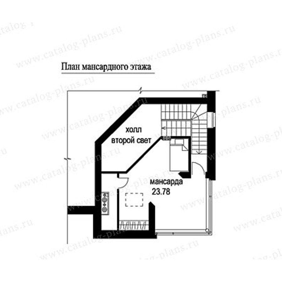 План 3-этажа проекта 49-53A