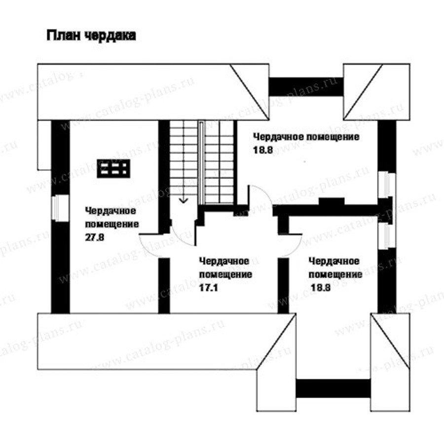 План 4-этажа проекта 49-83A
