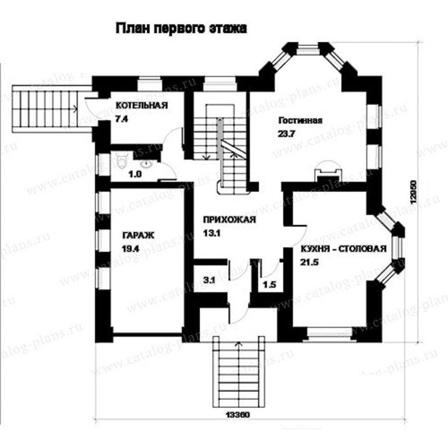 План 2-этажа проекта 49-83A