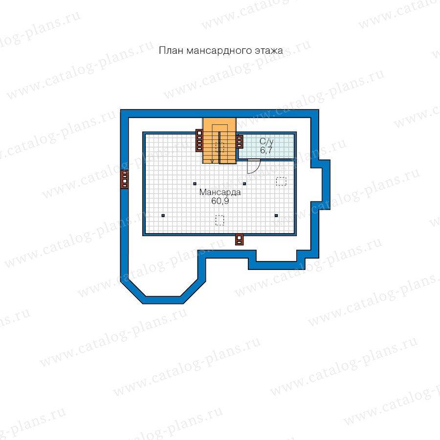 План 3-этажа проекта 48-29A