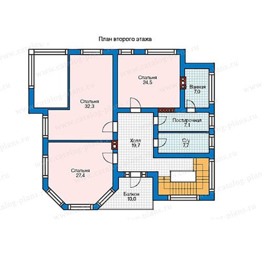 План 2-этажа проекта 48-21AG