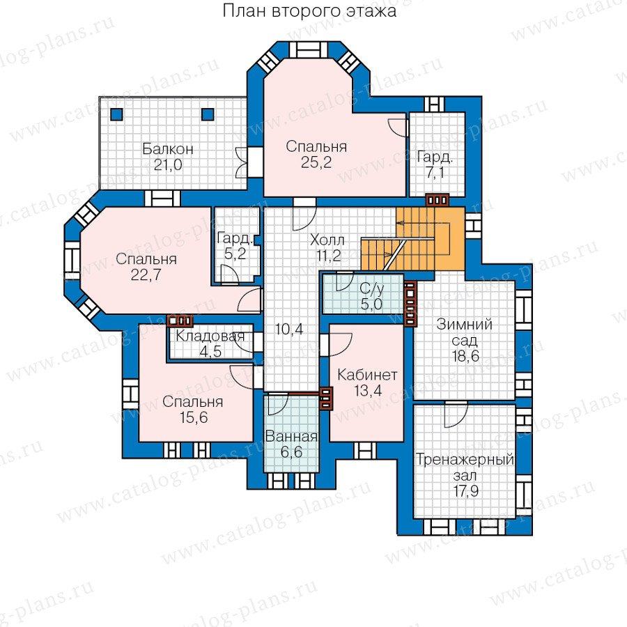 План 2-этажа проекта 47-36