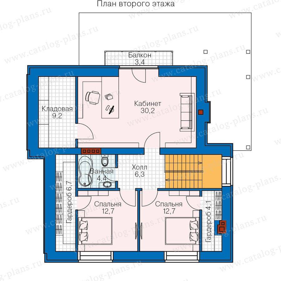 План 2-этажа проекта 47-31