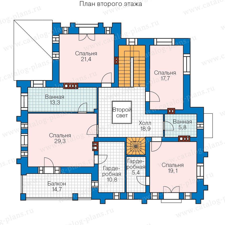 План 2-этажа проекта 47-35