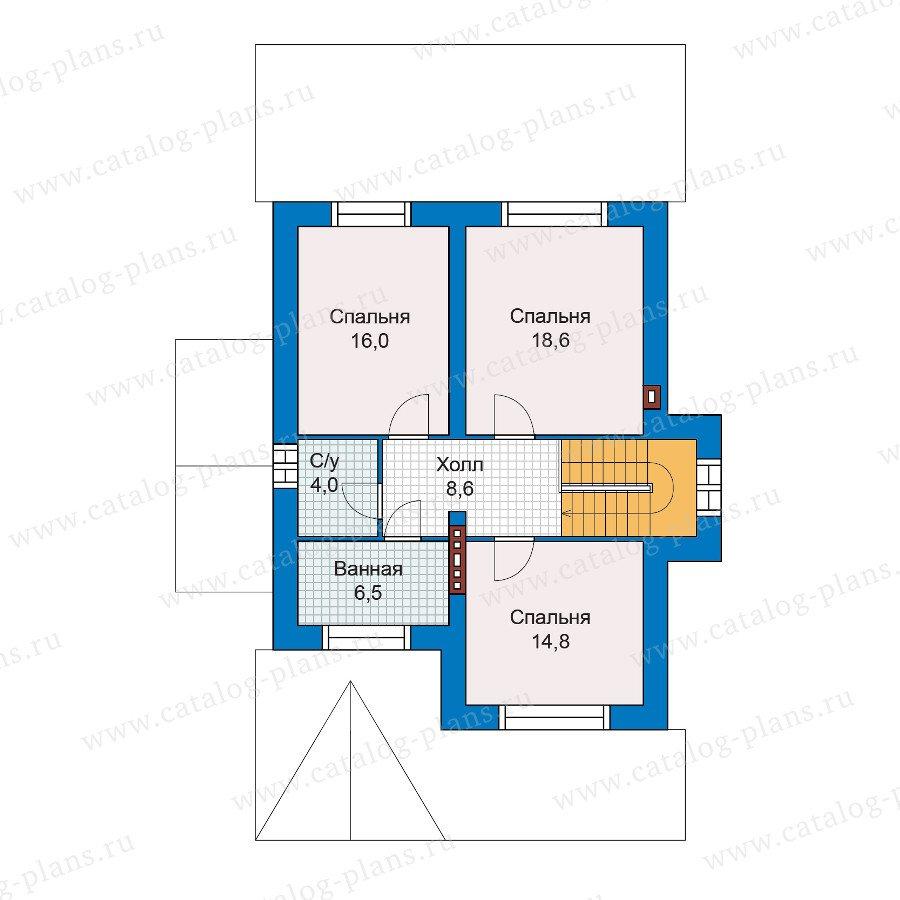 План 2-этажа проекта 47-01