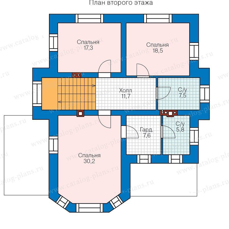 План 2-этажа проекта 47-28