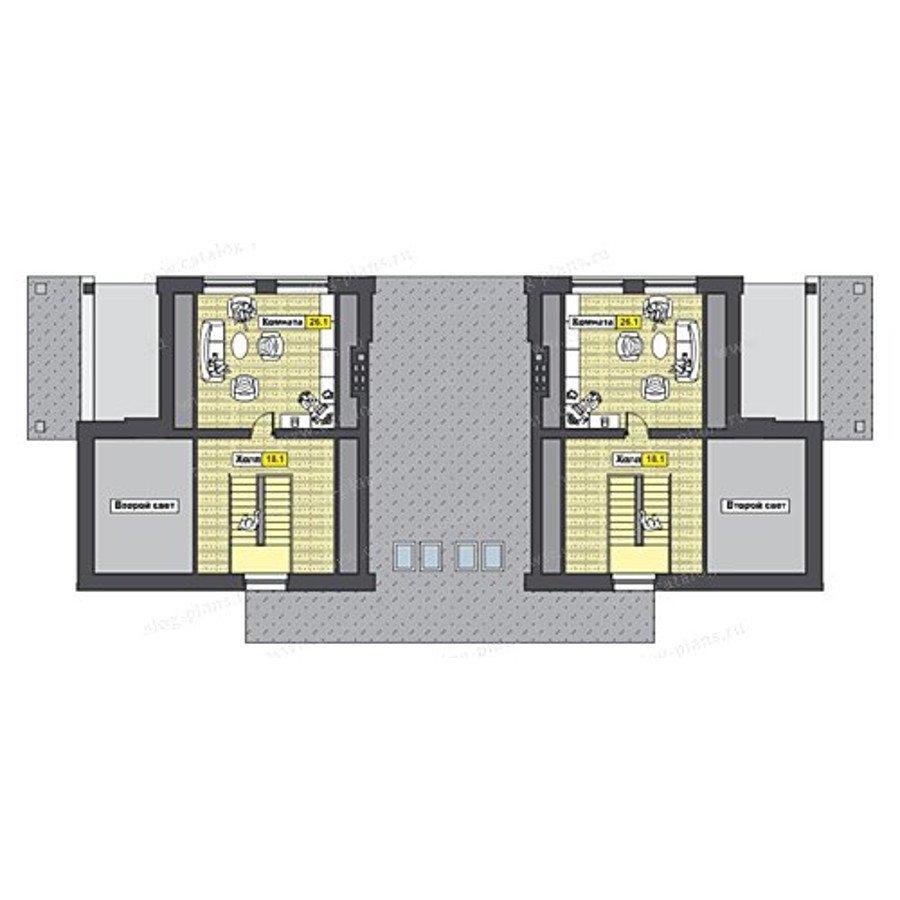 План 3-этажа проекта 47-46B