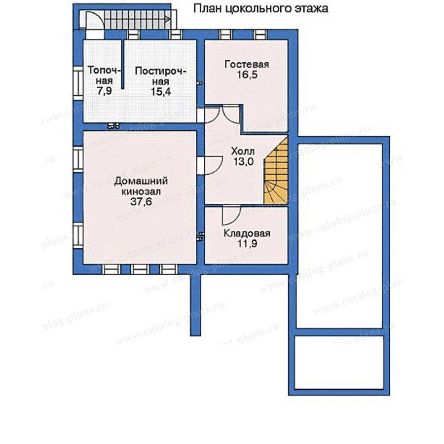 План 1-этажа проекта 35-34
