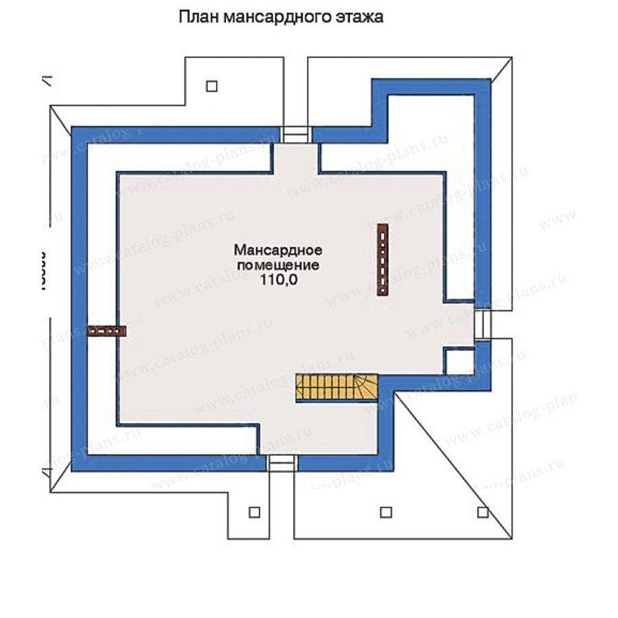 План 3-этажа проекта 33-07