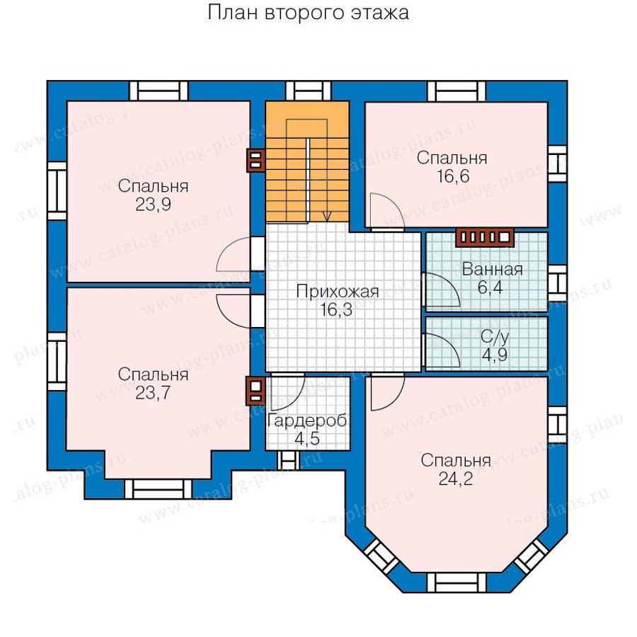 План 2-этажа проекта 40-11B