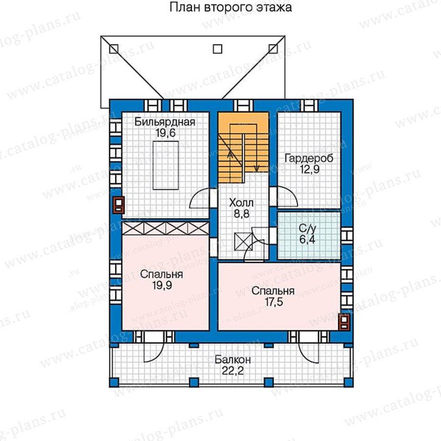 План 2-этажа проекта 47-44