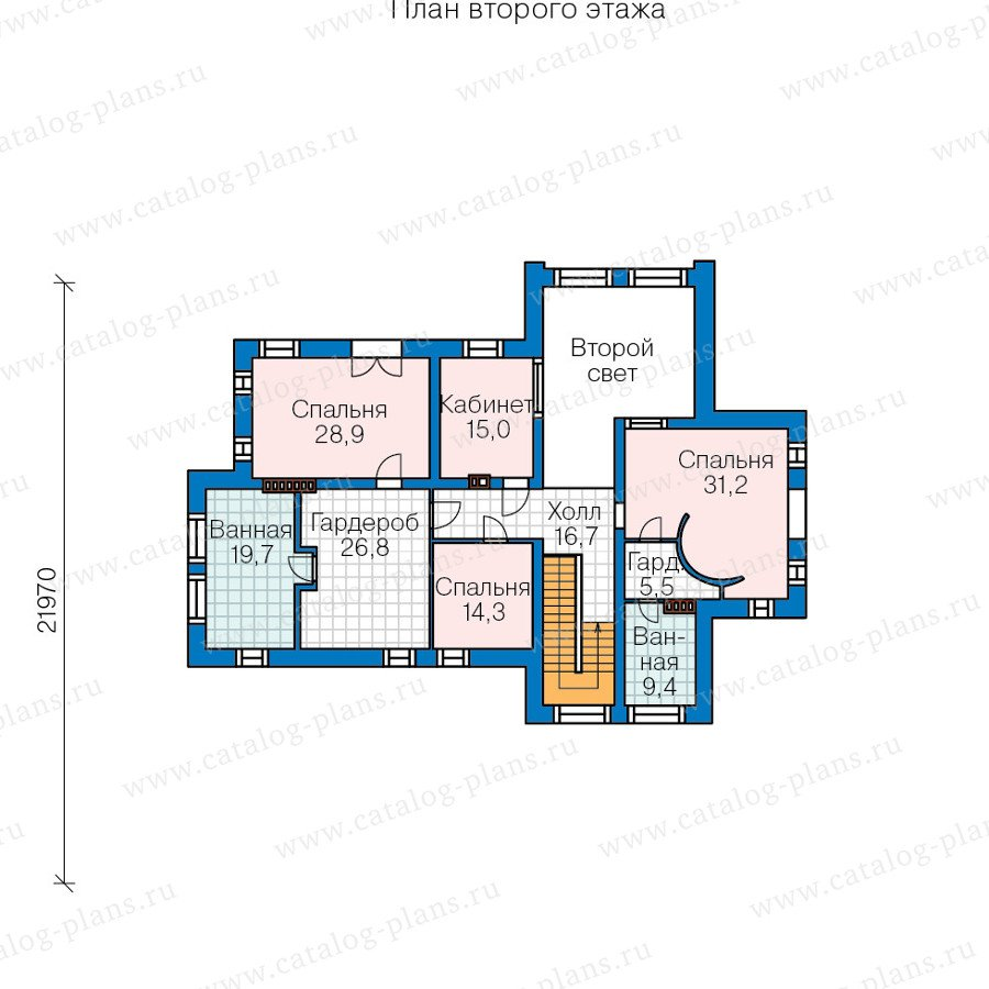 План 3-этажа проекта 47-37