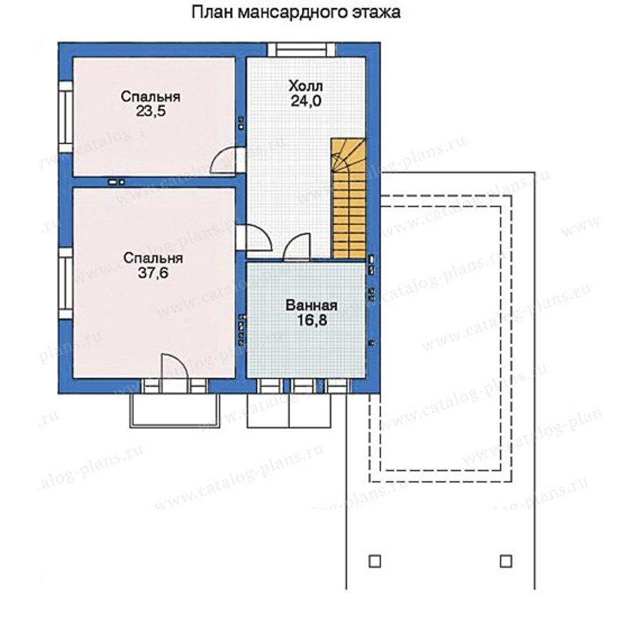 План 3-этажа проекта 35-34