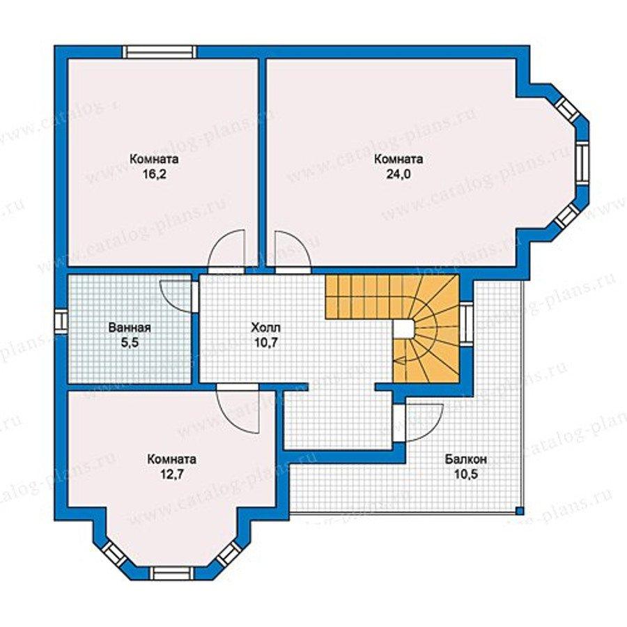 План 2-этажа проекта 13-16