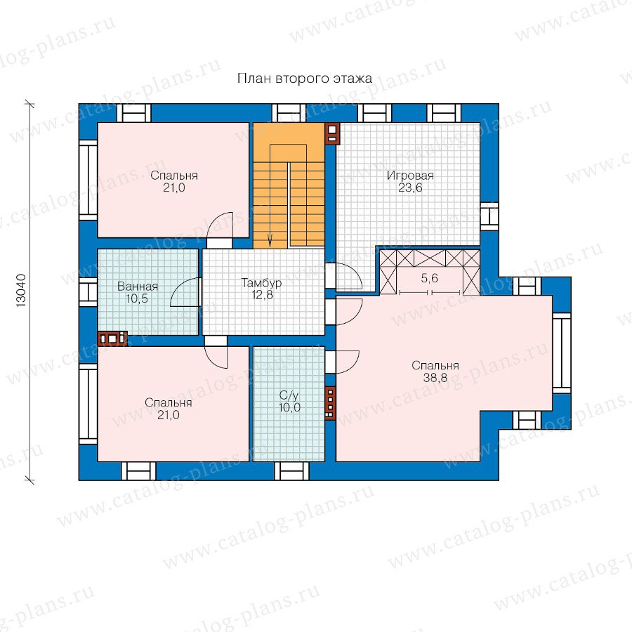 План 2-этажа проекта 47-39