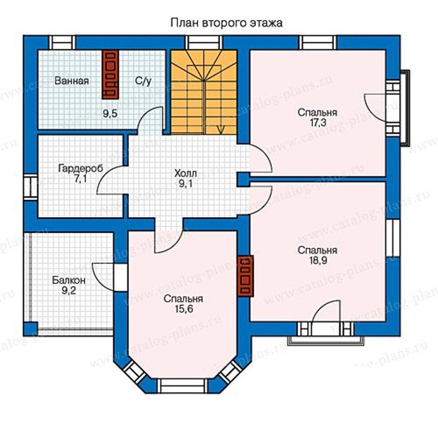 План 2-этажа проекта 40-12K1L