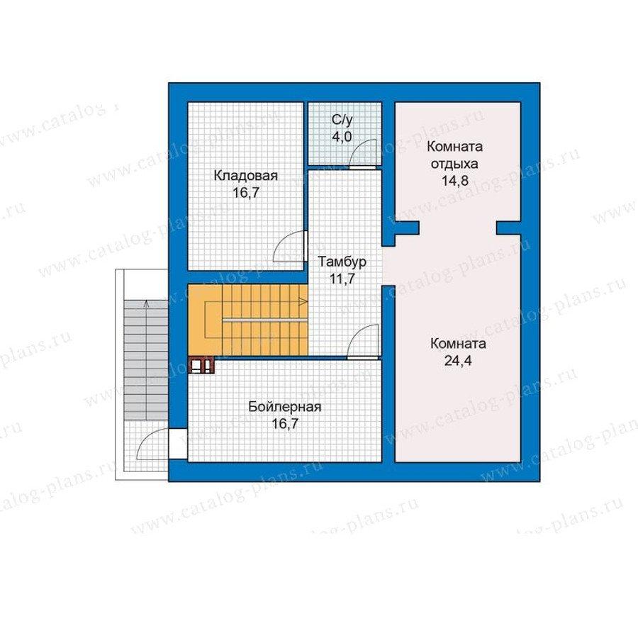 План 1-этажа проекта 48-28G