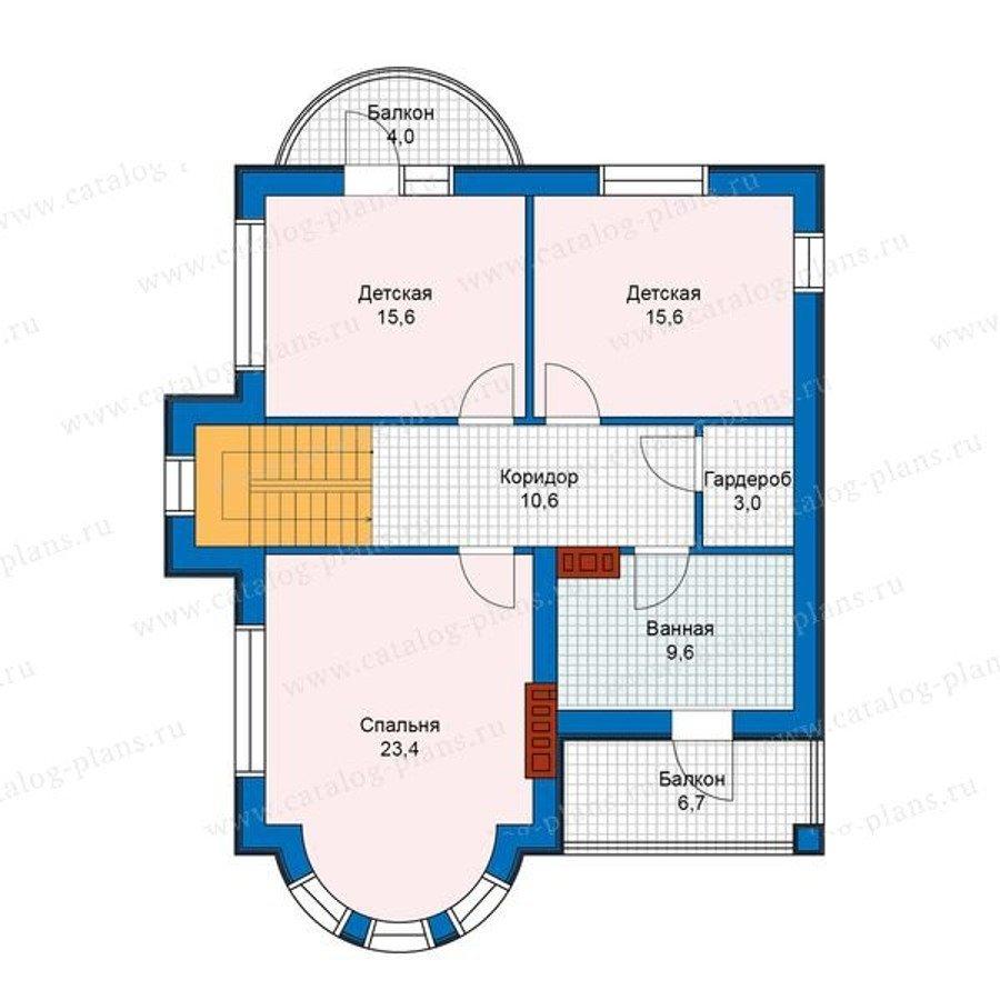 План 2-этажа проекта 48-22G