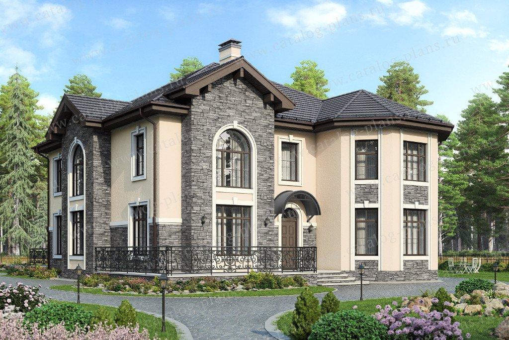 Проект жилой дом #48-31G материал - газобетон, стиль современный