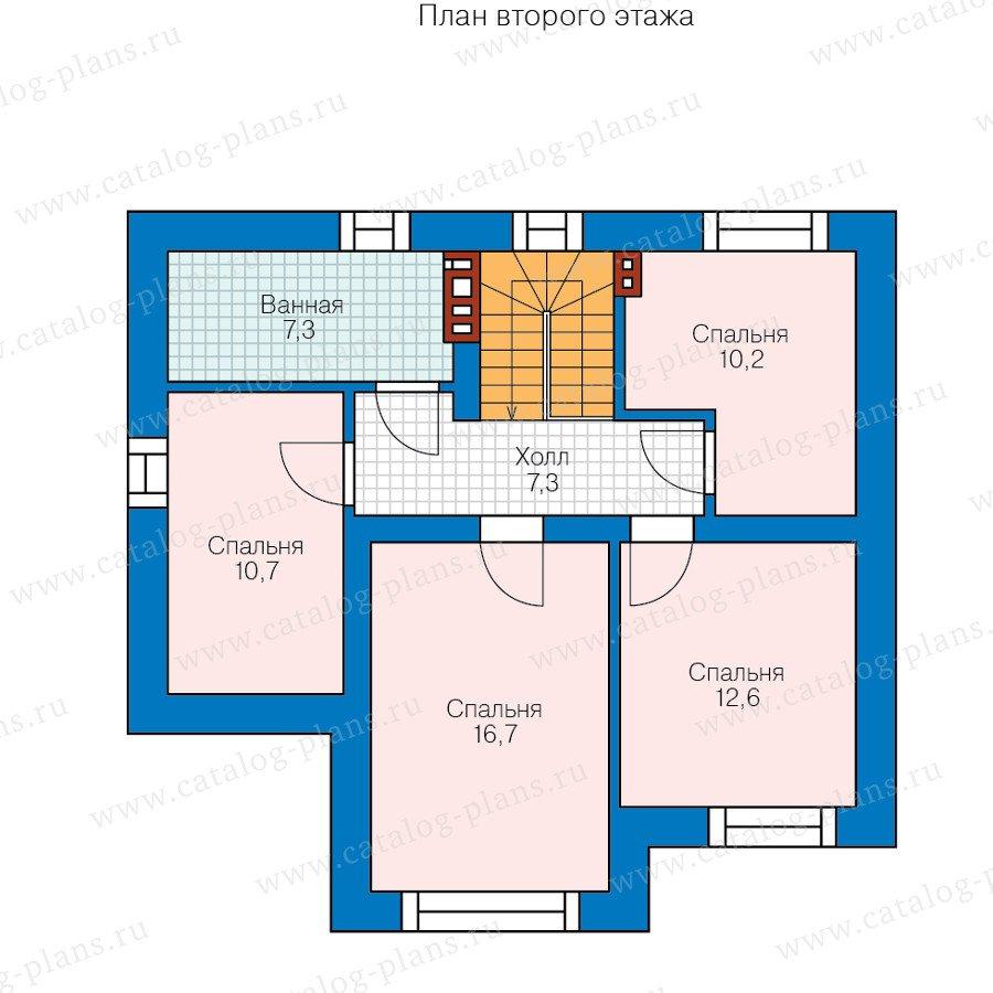 План 2-этажа проекта 40-47