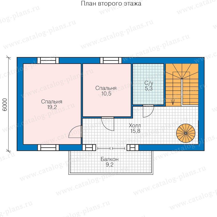 План 2-этажа проекта 60-78
