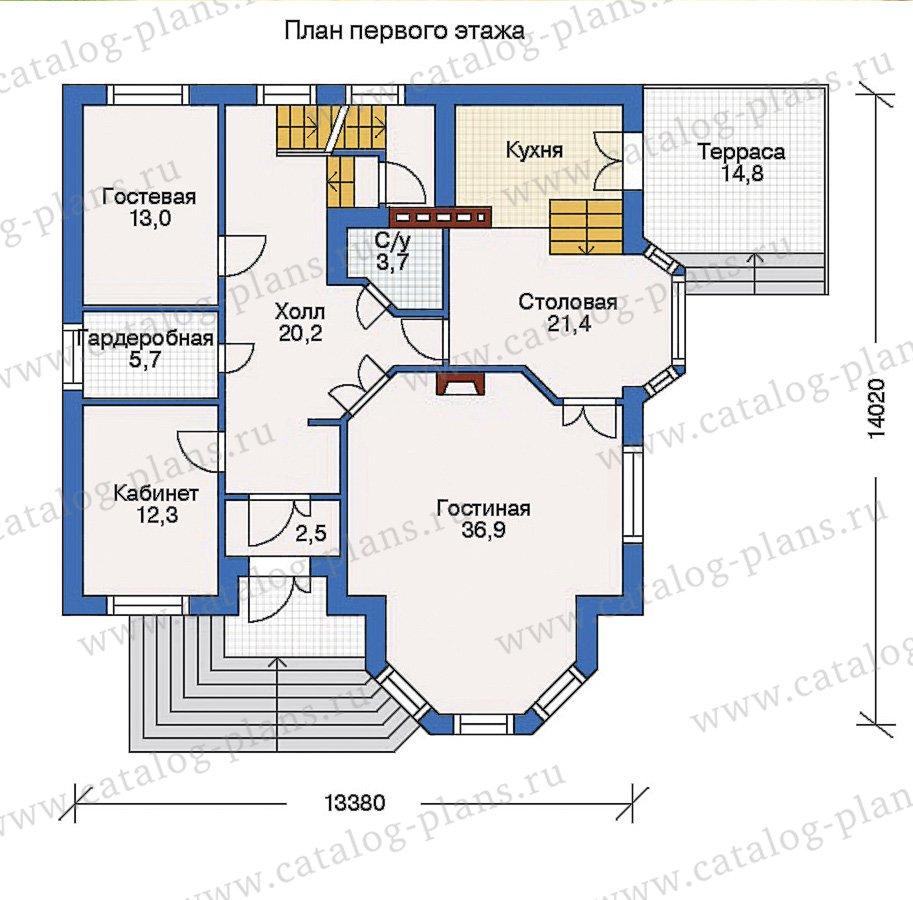 План 2-этажа проекта 31-89