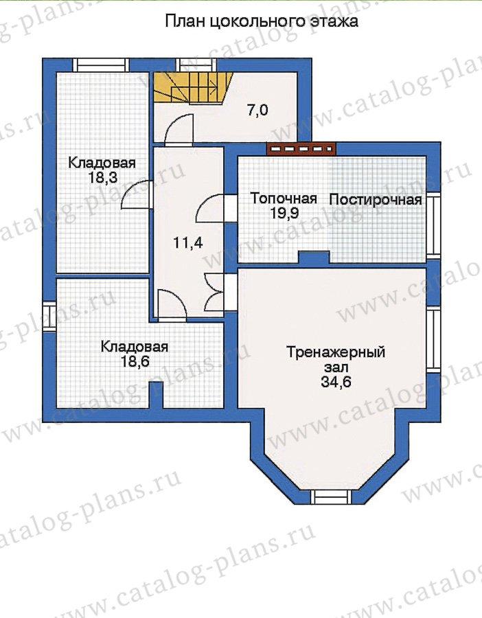 План 1-этажа проекта 31-89