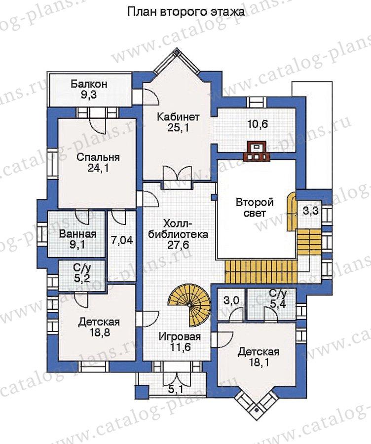 План 3-этажа проекта 36-22