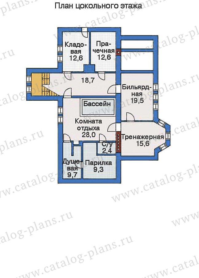 План 1-этажа проекта 33-48