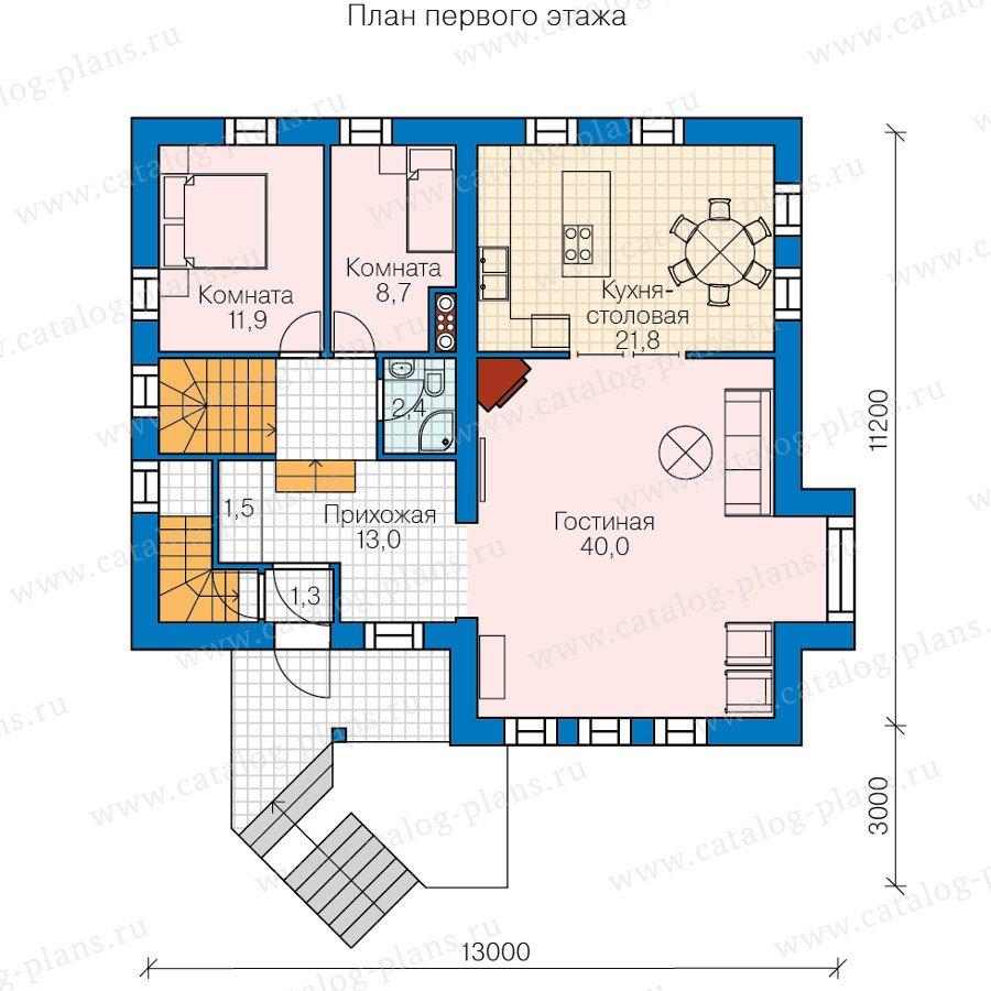 План 2-этажа проекта 47-55