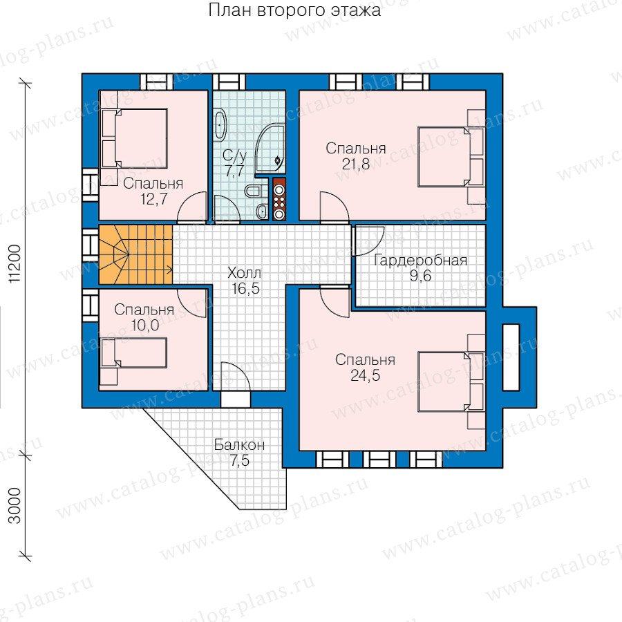 План 3-этажа проекта 47-55