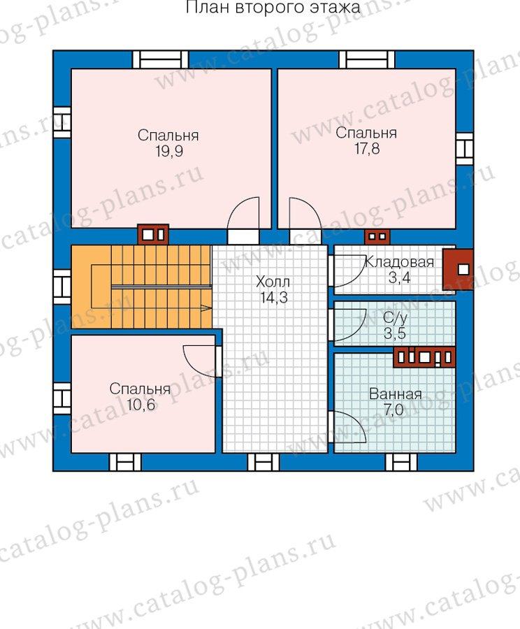 План 2-этажа проекта 57-05C