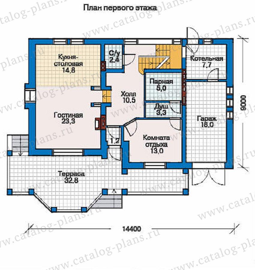 План 2-этажа проекта 50-92