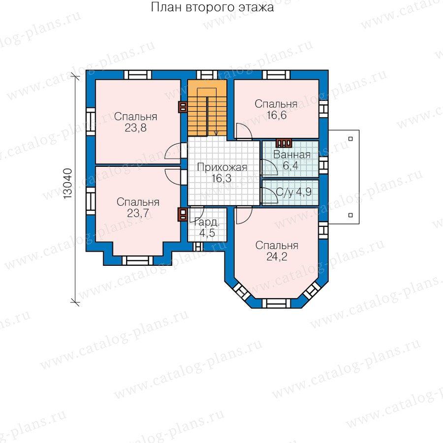 План 3-этажа проекта 40-11E