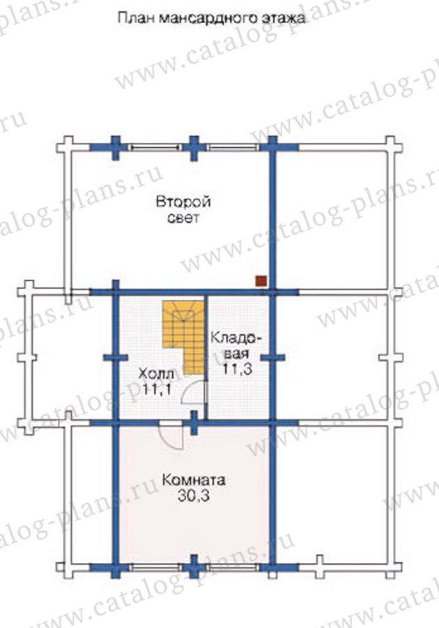 План 3-этажа проекта 12-02