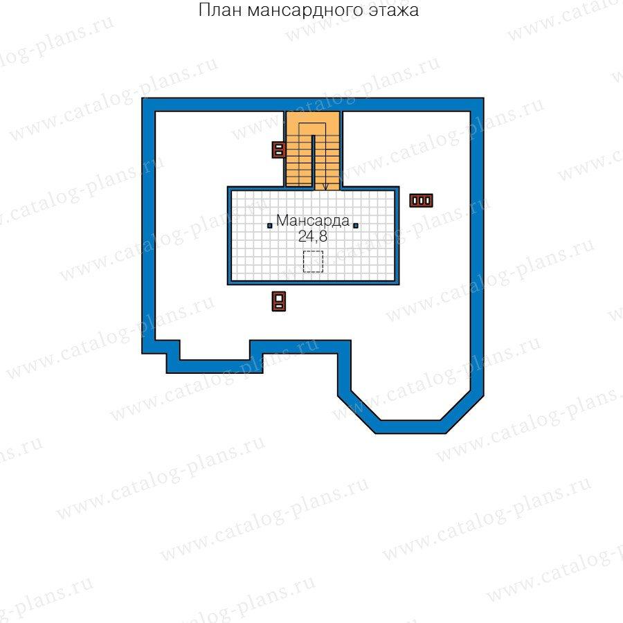 План 4-этажа проекта 40-11E