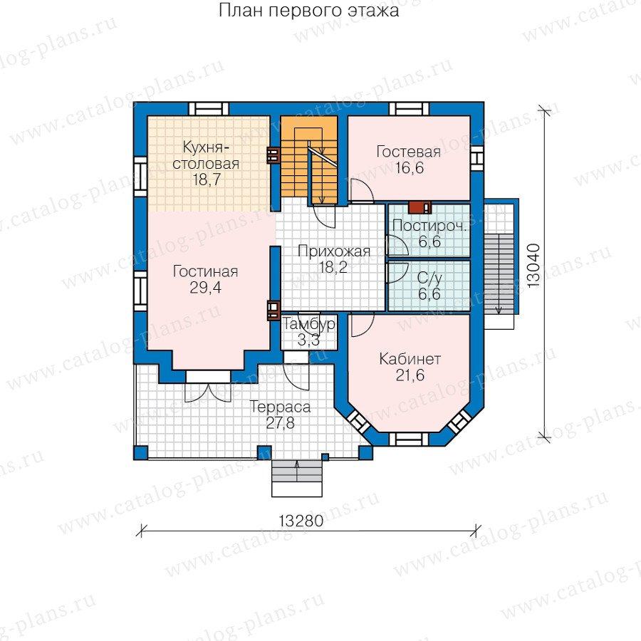 План 2-этажа проекта 40-11E