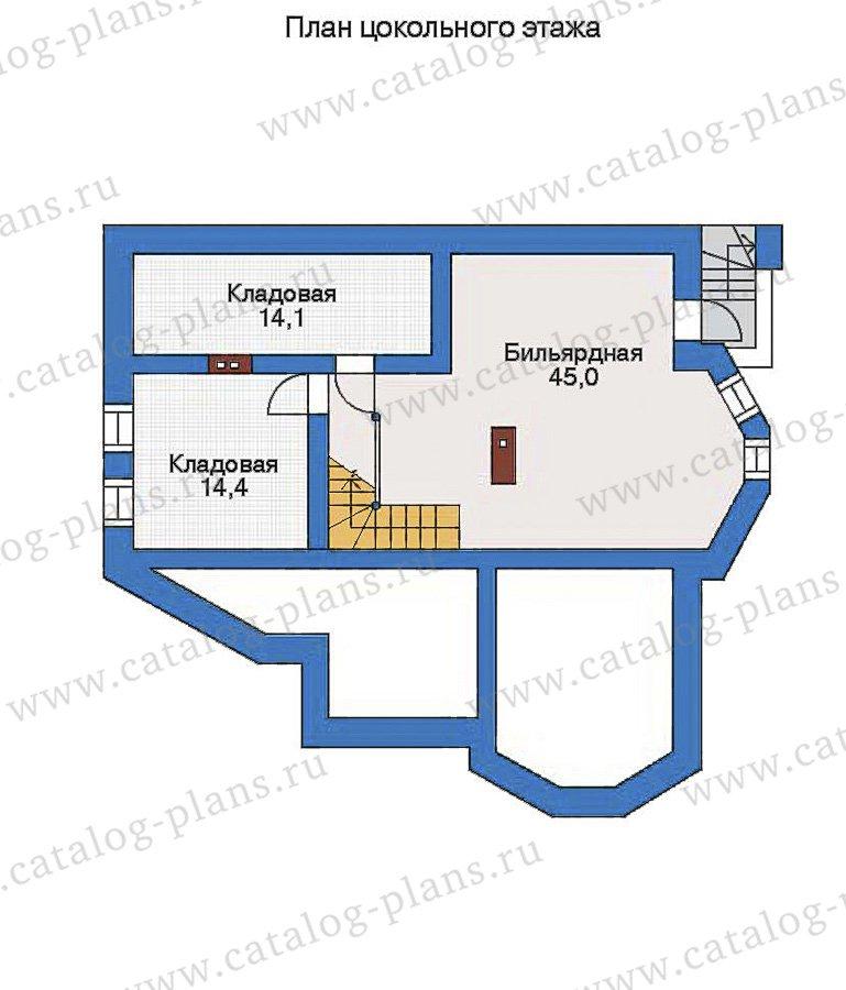 План 1-этажа проекта 32-72