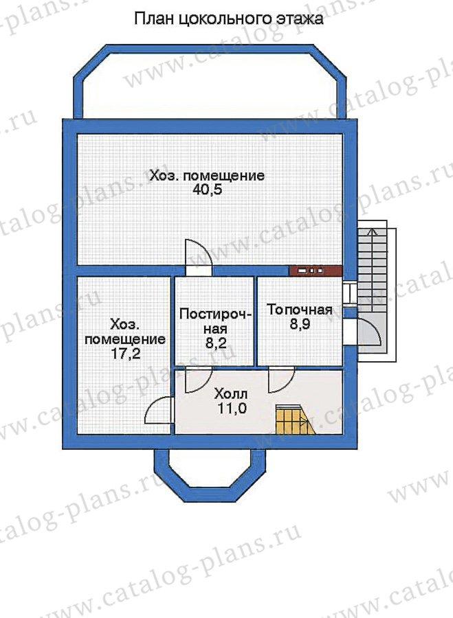 План 1-этажа проекта 34-79