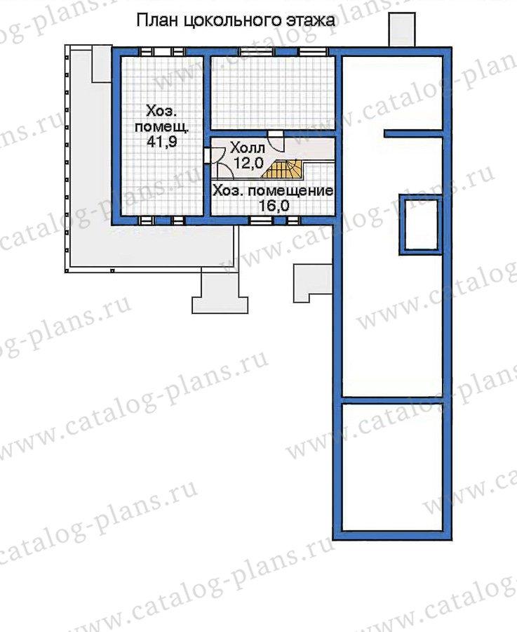 План 1-этажа проекта 32-47