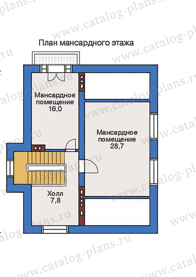 План 4-этажа проекта 32-41