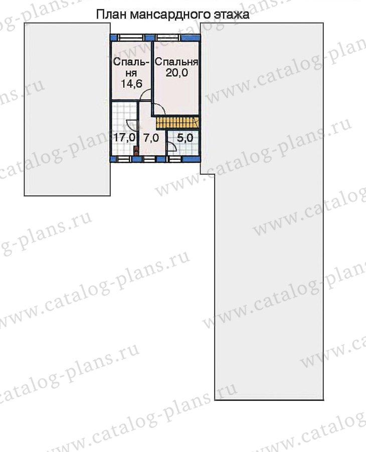 План 3-этажа проекта 32-47