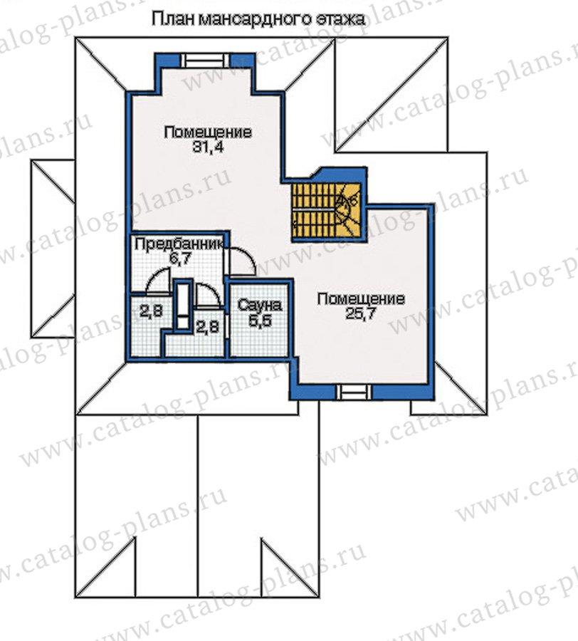 План 3-этажа проекта 35-13
