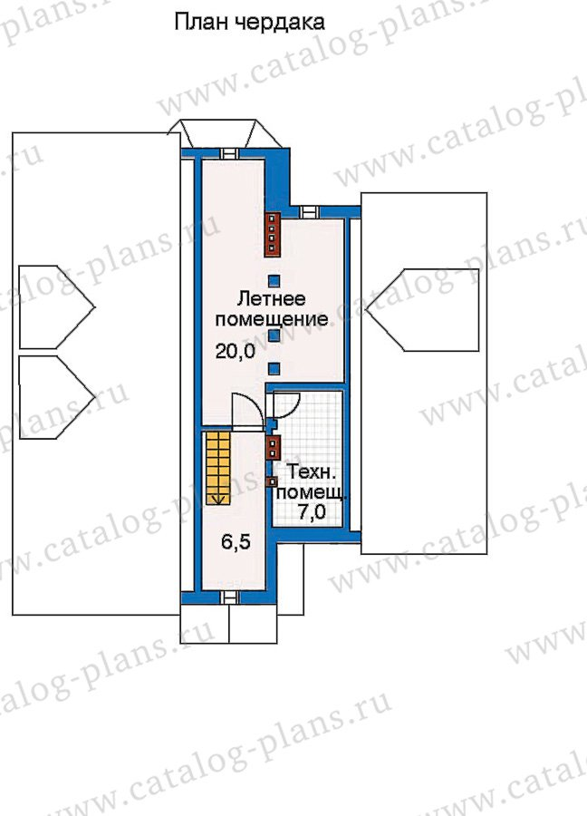 План 4-этажа проекта 30-45