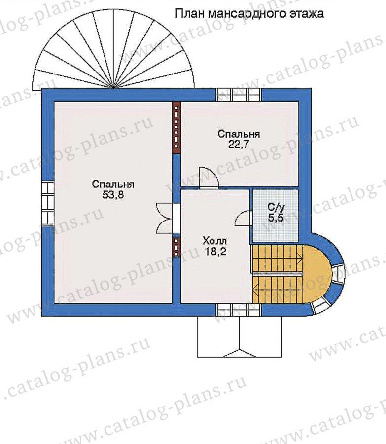 План 3-этажа проекта 32-85
