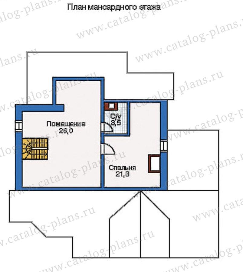 План 3-этажа проекта 35-11