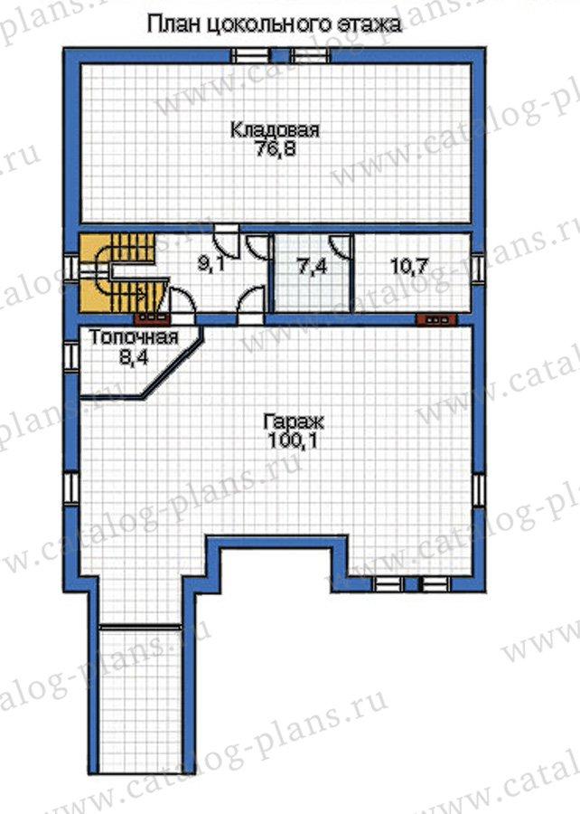 План 1-этажа проекта 32-11